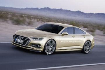 Prologue 概念上身!  新一代 Audi A7 細節曝光