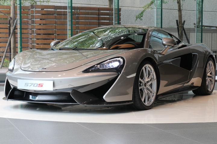 羽量級「親民」超跑!McLaren 570S 登台亮相
