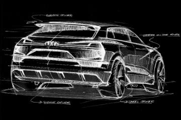 Audi 首部大型純電 SUV!2018 將正式投入量產
