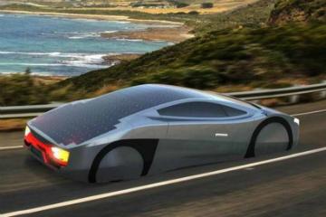 要價 1200 萬元! EVX Immortus 太陽能動力跑車