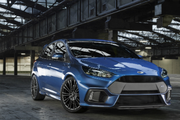 Ford Focus RS 猛爆鋼砲魂覺醒! 0~100km/h 加速竟然只需要…