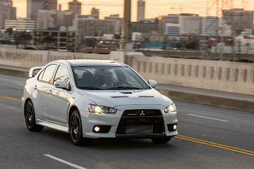 最後 1600 輛 EVO 榮光 Mitsubishi Lancer Evolution Final Edition 美國開賣