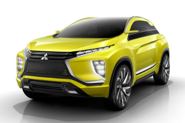 Mitsubishi eX 概念車 只吃電力的大黃車