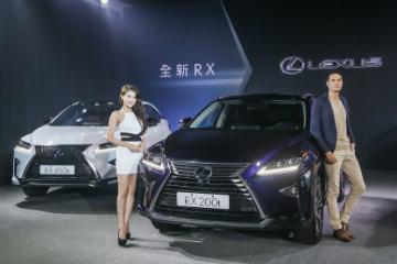 搶先日本!Lexus 第四代 RX 豪華休旅車在台全球首發