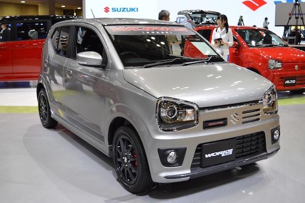 51 匹馬力的微熱血  Suzuki Alto Works 東京車展亮相