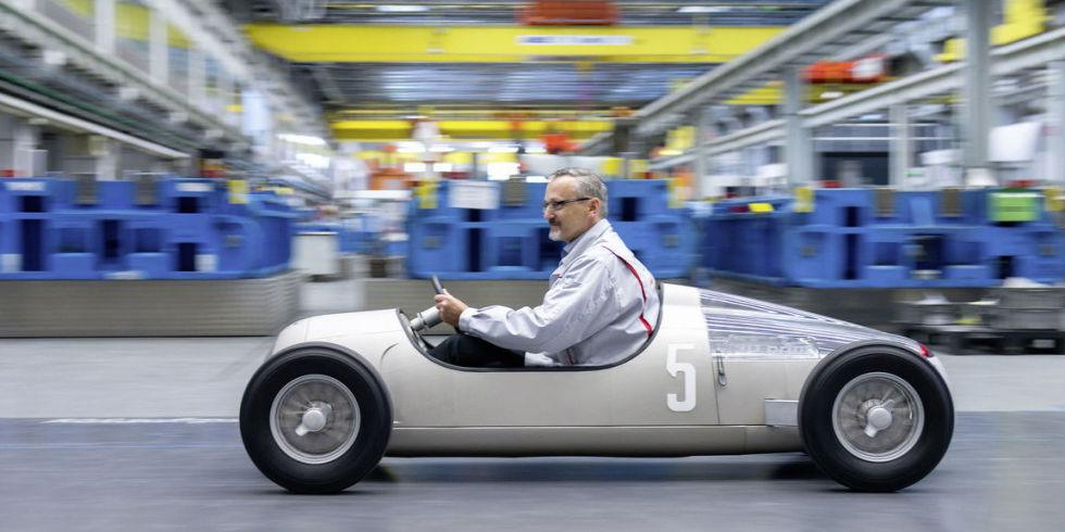 Audi打造復刻版C 型跑車  靠3D 列印圓夢?