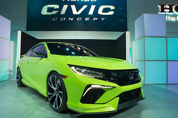 Honda Civic Coupe 雙門轎跑  下週洛杉磯車展首度亮相