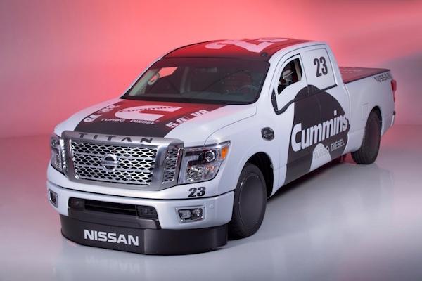 不只時速 300  Nissan Titan XD 更要挑戰最速貨卡
