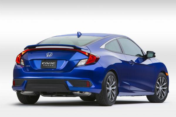 眾所矚目! 2016 Honda Civic Coupe 細節釋出