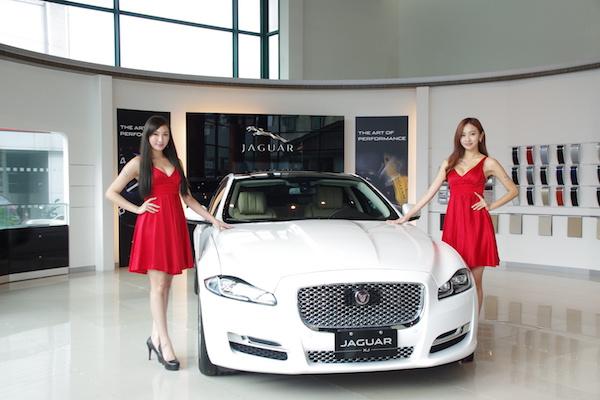 2016 台北車展 Jaguar&Land Rover 車模英倫風亮相(內有影音)