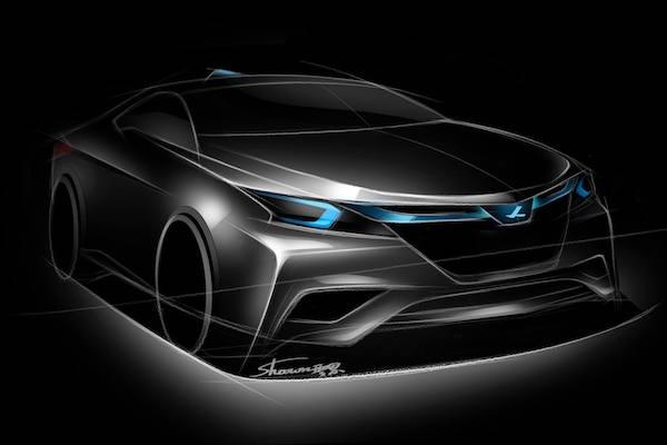 納智捷小車 Luxgen S3 EV+   自家FB秀概念圖