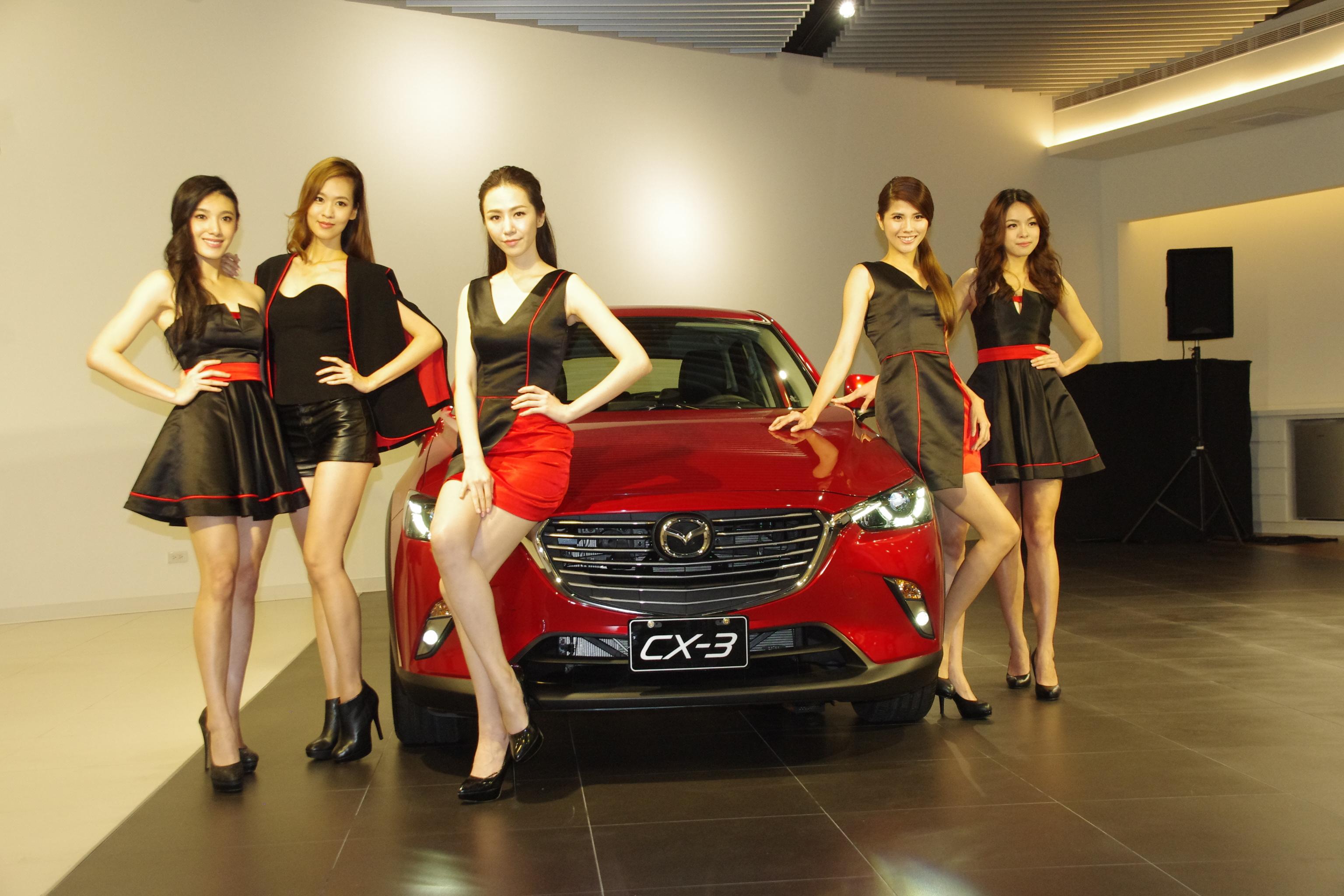Mazda 2016 台北車展  雙門小跑車 MX-5 與車模首登場!