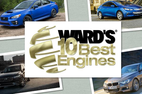 WardsAuto 評選 2016 年度 10 大最佳汽車引擎大獎公佈!