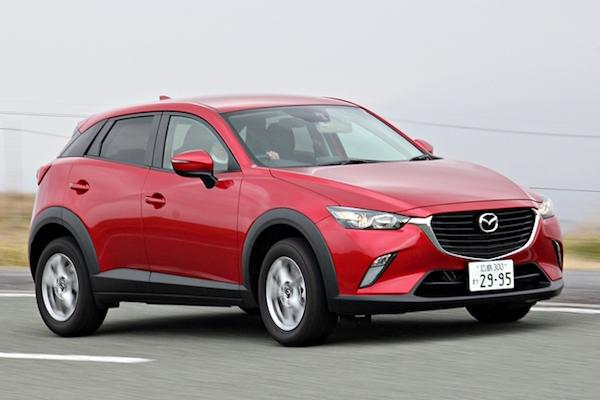 柴油版 Mazda CX-3 預售價剛公佈  汽油版也要來了?