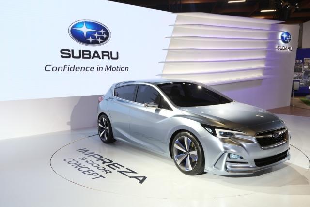 Subaru Xv X Impreza 5 Door Concept 驚艷車展 自由電子報