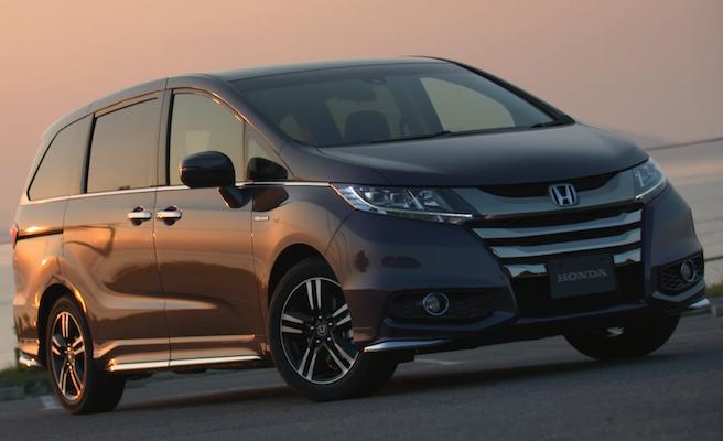 Honda Odyssey 油電版  每公升居然可跑 26 公里!