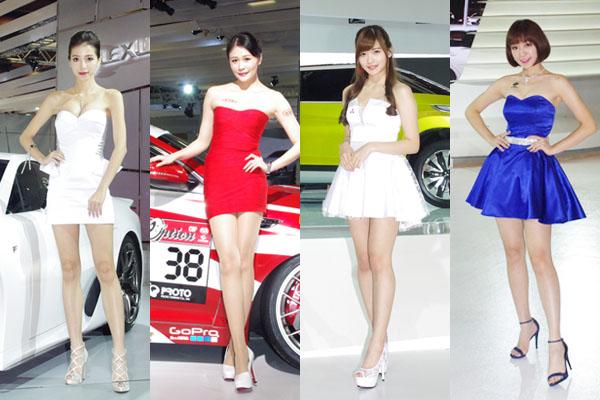 台北車展  世貿展覽館車模一次看透透!