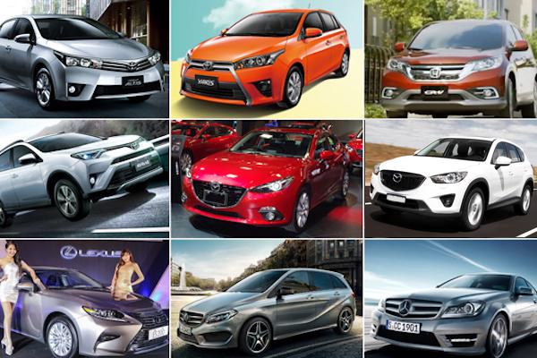 2015 年 12 月汽車銷售成績  Toyota Altis 賣破 5000 輛!