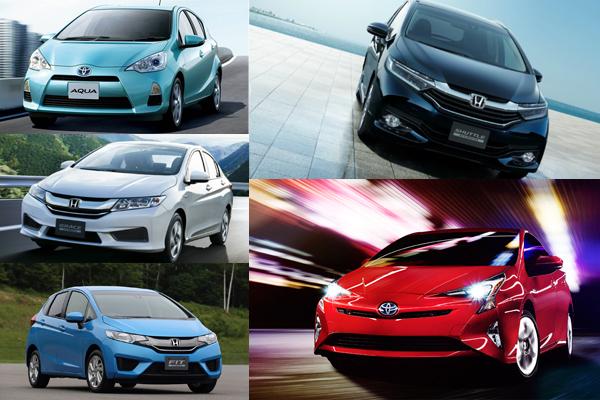 日本官方公佈最省油車款  第一名果然是它....