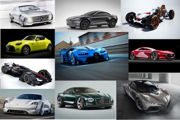 2015 最佳概念車排行榜出爐  雀屏中選的是這 10 輛..