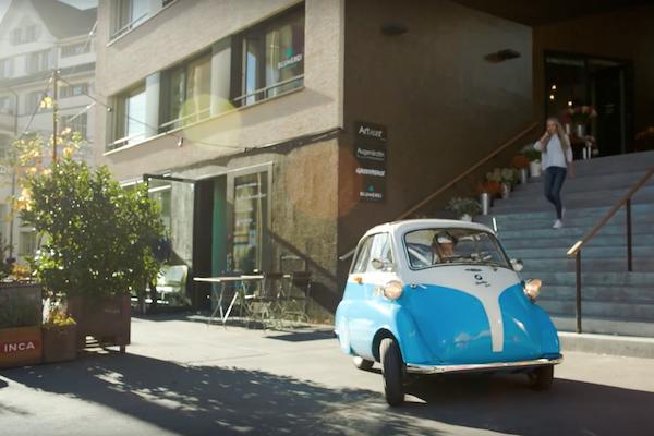 BMW 小車重出江湖   瑞士車廠打造復刻版雙人電動車(內有影片)