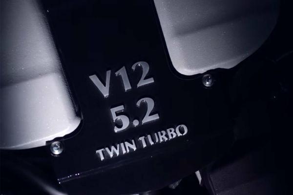 首度採用渦輪增壓!  Aston Martin 發表全新 5.2 升雙渦輪增壓 V12 引擎