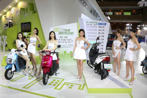 電動二輪正夯!中華 e-moving 2015 年成長達 32%