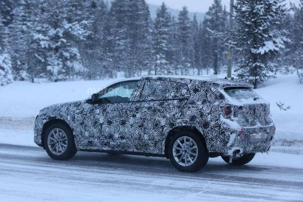 外型更添動感氣息!  BMW X2 偽裝照曝光