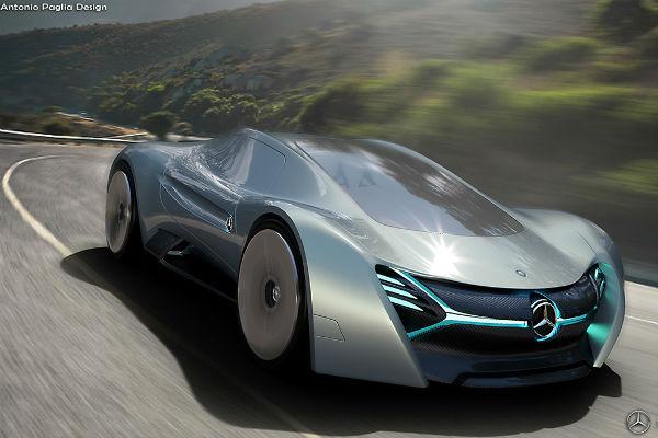 超跑電動化!  Mercedes-Benz 新車型 ELK 樣貌長這樣!