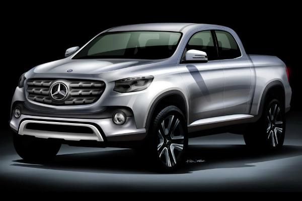 X-Class 皮卡車型!Mercedes-Benz 豪華 Pick-up 消息釋出