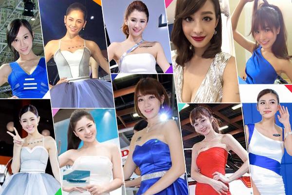 2016 台北車展  網路人氣前 10 大車模女神在這裡!