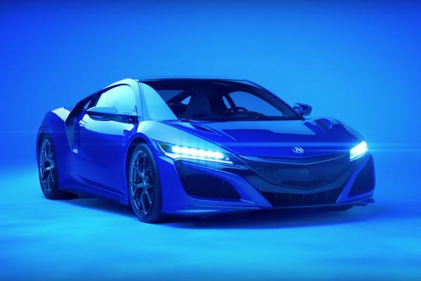 Acura NSX 廣告 超級盃美式足球賽搶曝光!(內有影片)