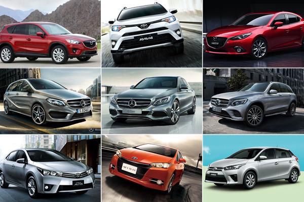 2016 年 1 月汽車銷售成績  M-Benz GLC 休旅車搶進前三名!