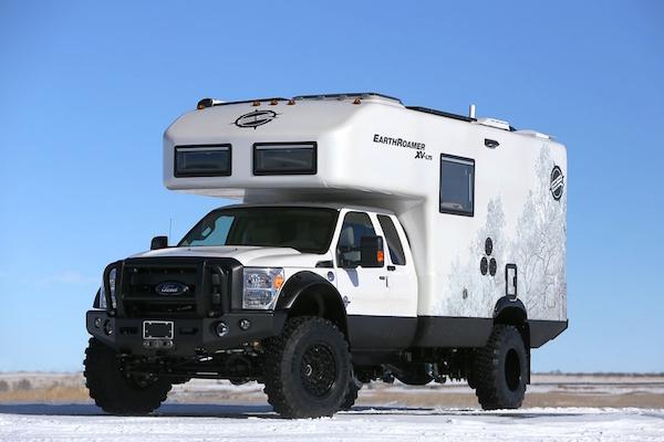 露營專用車!  千萬起跳的 EarthRoamer XV-LTS
