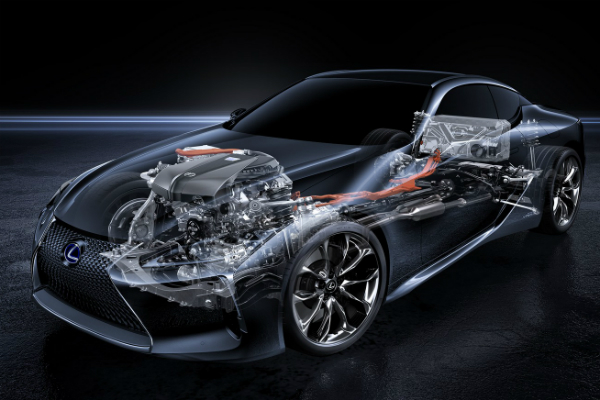 新式油電跑車   Lexus LC500h 只配備 4 速變速箱的原因?