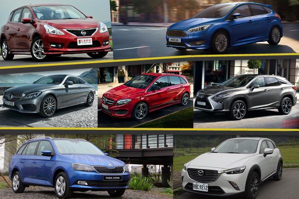 2016 年 2 月汽車銷售成績    Honda 與 Mazda 排名逆勢上升!