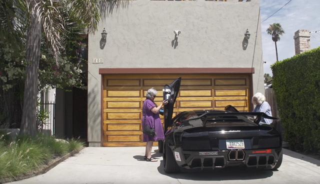 路人看傻了!    Lamborghini 超跑駕駛竟然是阿嬤?