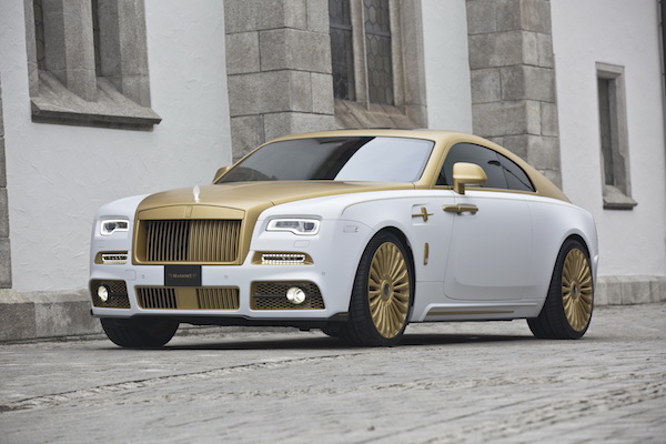 純金上身! Rolls Royce Wraith Palm Edition 999 金光耀眼
