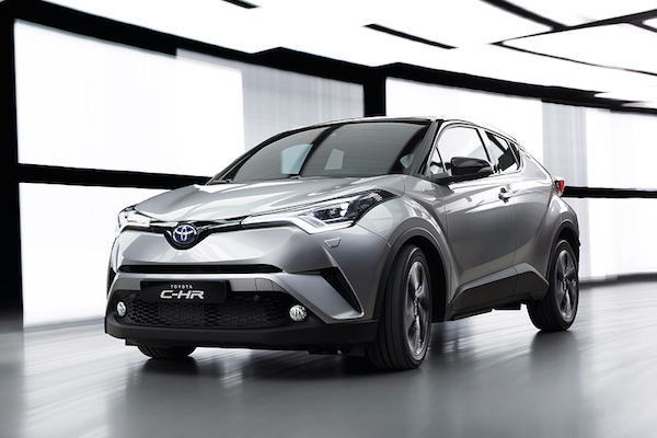 Toyota C-HR 1.2 升渦輪版   年底導入台灣?