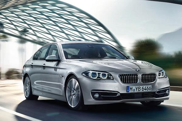 轎跑車BMW 5 Series    悲劇的一幕讓人鼻酸