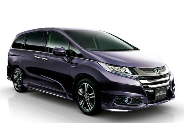 油電車日本賣很好  Honda Odyssey Hybrid 佔比超高!