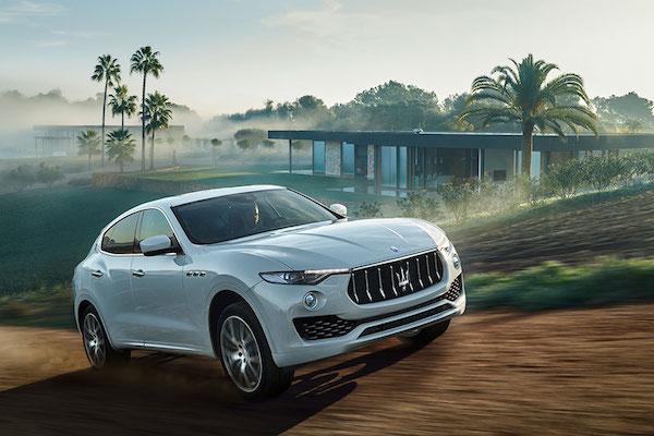 Maserati 首款 SUV Levante 北美售價公佈!