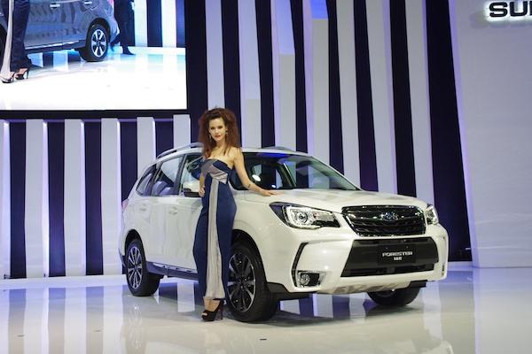挑戰路況極限  Subaru Forester 小改款泰國亮相