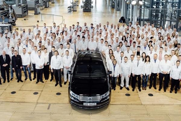 美夢終醒!  Volkswagen Phaeton 旗艦車正式停產