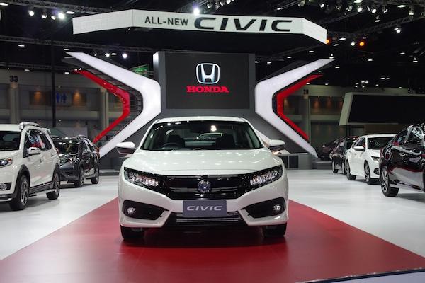 泰國 Honda Civic 10 現場直擊! 氣派外型有如跑房車