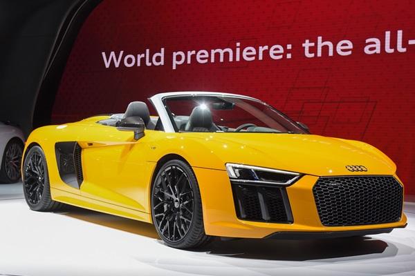 「阿爸」紐約「上空秀」 Audi R8 Spyder 5月登台