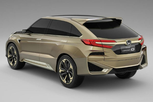 專賣強國人   Honda 土豪旗艦 UR-V休旅下月發表