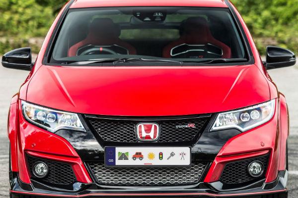 車能這樣玩!  Honda 表情符號車牌 可愛登場