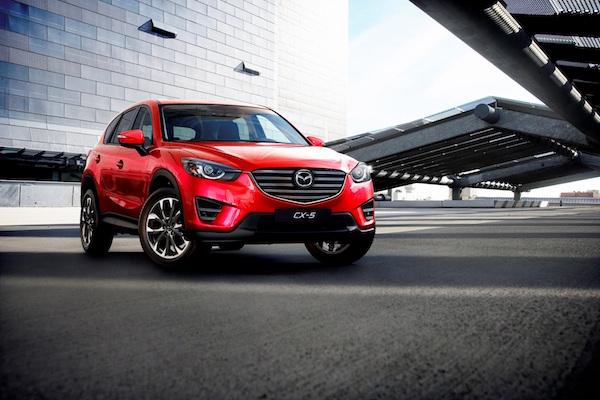 Mazda CX-5 二代目  年底洛杉磯車展有望亮相?