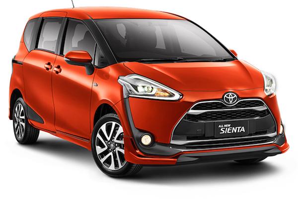 Toyota Wish 接班人  Sienta 印尼上市